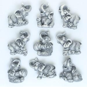 Слоники (9 видов) / магнит